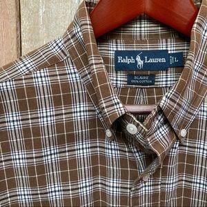 Ralph Lauren Plaid Shirt L